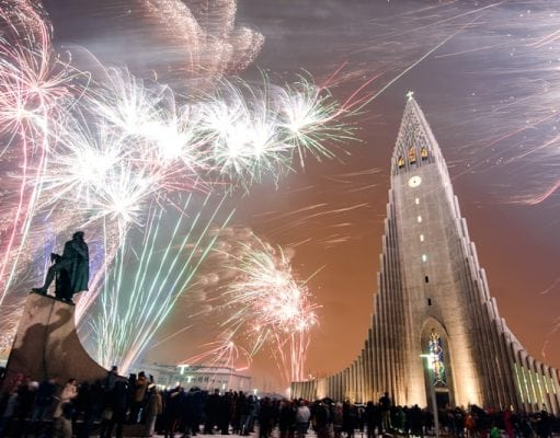 new years eve in iceland