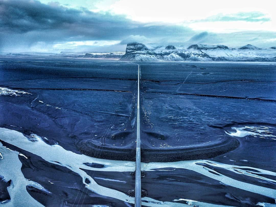 drones in iceland